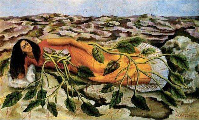 """""""Ρίζες"""" από τη συγκλονιστική Φρίντα Κάλο (1943)"""