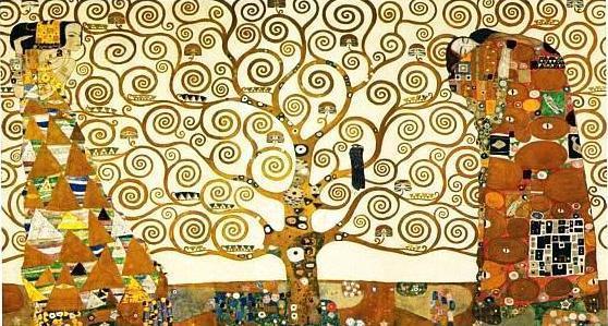 """""""Το δέντρο της ζωής"""". Εργο του Γκούσταβ Κλιμτ (1909)"""