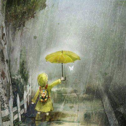 """""""M' αρέσει να περπατώ στη βροχή γιατί κανείς δεν μπορεί να αντιληφθεί ότι κλαίω"""" - Τσάρλι Τσάπλιν"""