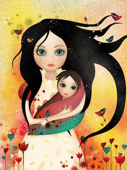 """""""Μια κόρη κάνει τη μέρα σου πιο λαμπρή και την καρδιά σου πιο ζεστή""""!"""