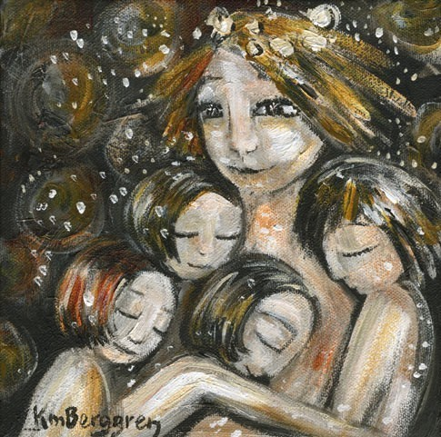 """Mητέρα πολλών"" από την εξαιρετική Katie  m.  Berggren."