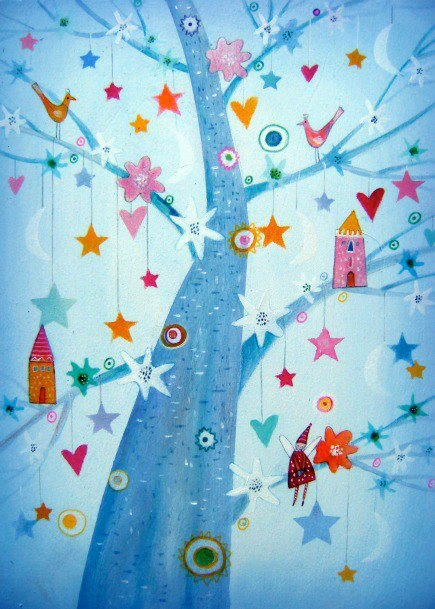 Aγάπη είναι αυτό που υπάρχει γύρω από το Χριστουγεννιάτικο δέντρο όταν σταματήσουμε να ανοίγουμε τα δώρα κι ακούσουμε αληθινά ο ένας τον άλλο...