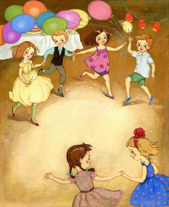 """Το παιχνίδι είναι ο αγαπημένος τρόπος του εγκεφάλου μας να μαθαίνει"""". Ναι, ρωτήστε τα παιδιά!Art: Lyuda Pipchencko"""