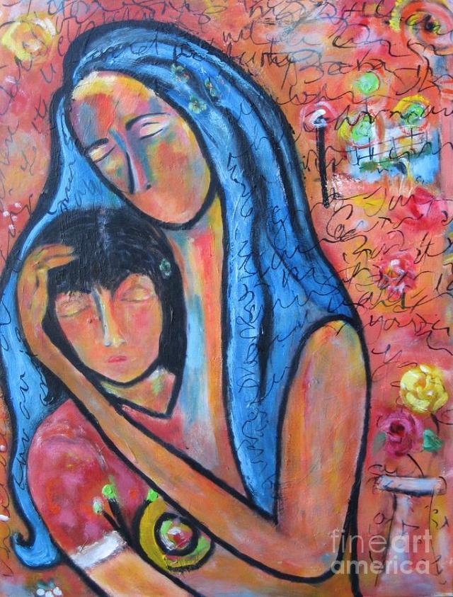 """""""Παρηγοριά"""" , έργο της Chaline Ouellet."""