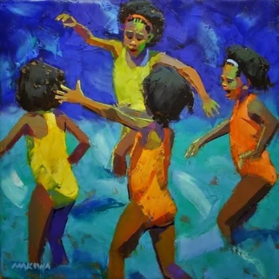 """""""Η χειρότερη συνήθεια που υπάρχει είναι το να μιλάς συνεχώς για τα προβλήματα της ζωής. Σπάσε τη συνήθεια κι άρχισε να μιλάς και για τις χαρές της ζωής!"""" Art: Makiwa Mutomba"""