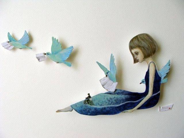 """""""Το μόνο αντίδοτο στο εξωτερικό χάος είναι η εσωτερική γαλήνη"""" Art: Maki Hino"""
